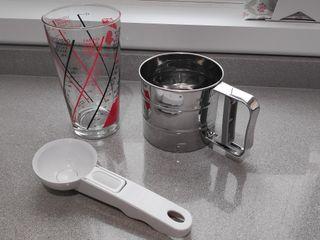 Medidor de cristal + REGALO cuchara helados