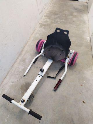 Hoverboard + Accesorio silla
