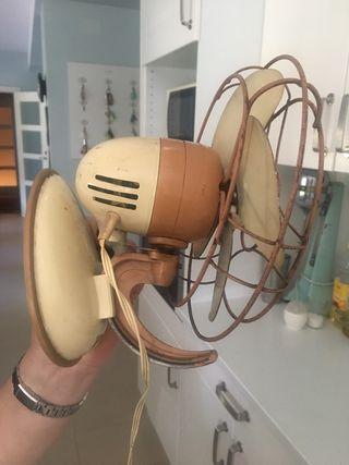 Ventilador antiguo vintage Numax