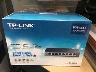 Desktop Switch TP-Link 8 puertos