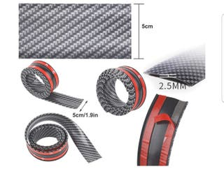 Bandas fibra de carbono