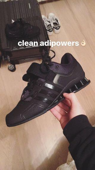 Adidas Adipower Full Black