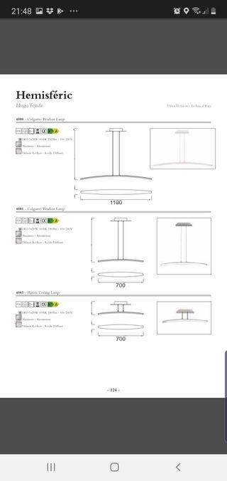 Lampara Led Diseño Aluminio