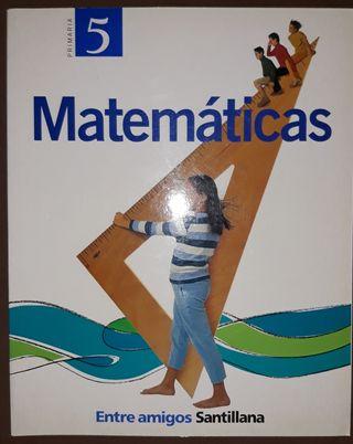 LIBRO TEXTO 5 PRIMARIA MATEMÁTICAS.