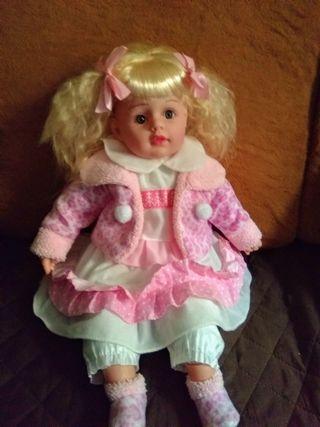 muñeca ,60cm