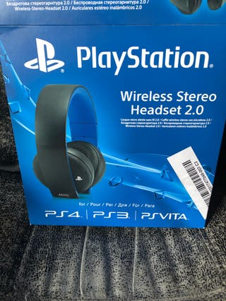 Auriculares play station