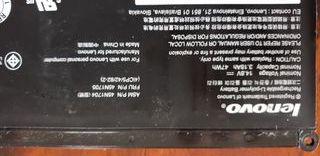 Bateria de ordenador Lenovo