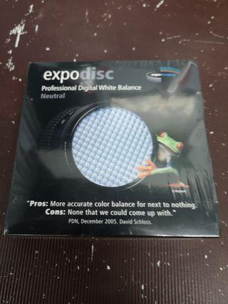 Filtro Expo disc para balance de blancos