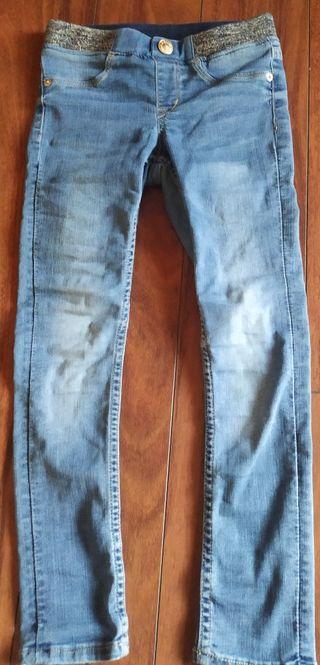 2 pantalones niña h&m
