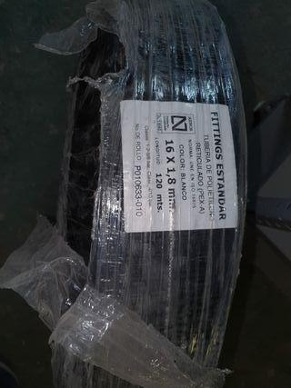 Rollo tubería polietileno reticulado 16mm