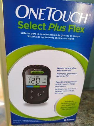 medidor de glucosa+ tiras nuevo