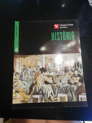 Llibre Història Batxillerat (Ed. Vicens Vives)