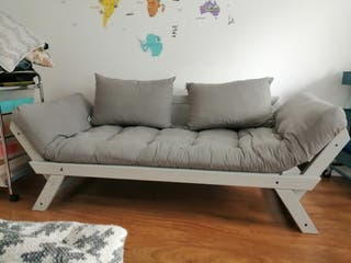 sillón, sofá cama futon