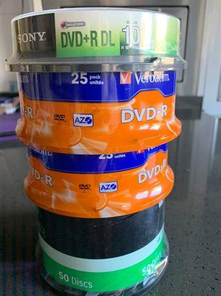 110 unidades Dvd -R