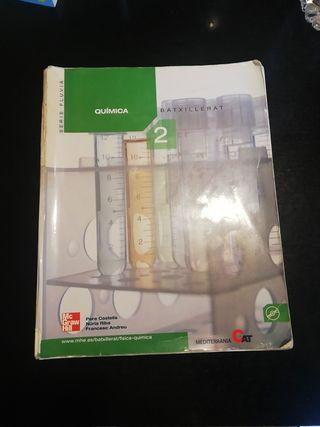 Llibre de Química Batxillerat 2. Ed. McGrawHill