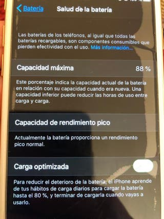 iPhone 8,rosa,impecable.