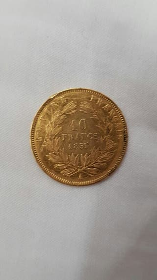 moneda de oro 18k