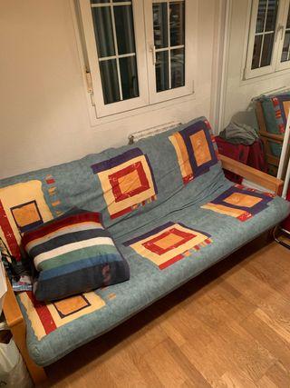 Sofá-Cama Futón 150 - Amplio y cómodo