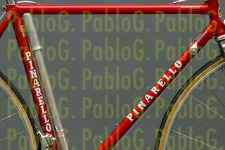 Bici Pinarello adhesivos vinilos pegatina
