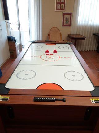 Mesa juegos. Billar-Ping pong-Air hockey.