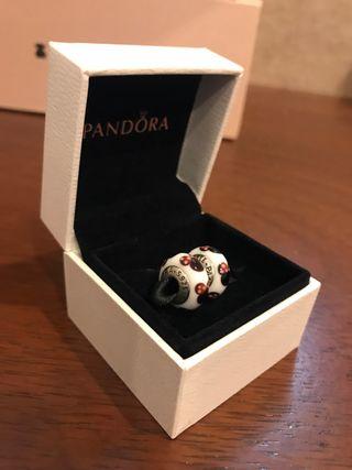 2 Charm Pandora murano disney