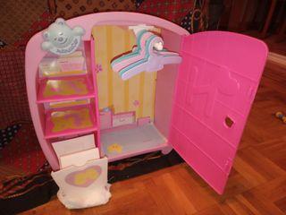 armario Nenuco + juguetes