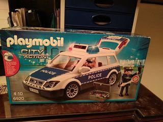 Playmobil coche de policía