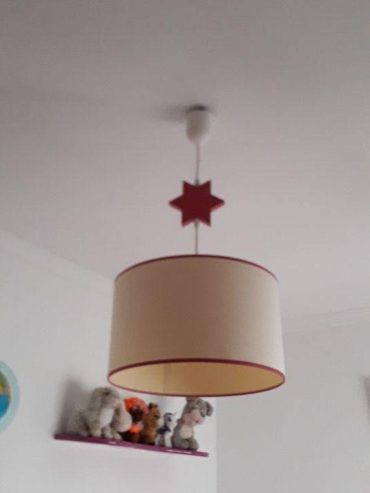 lámpara de techo niña