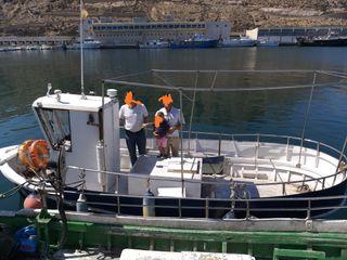barco pesquero licencia de pulpo