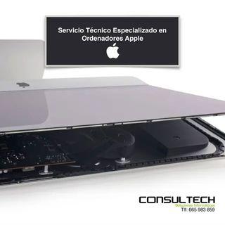 Servicio Técnico Especializado Ordenadores Apple