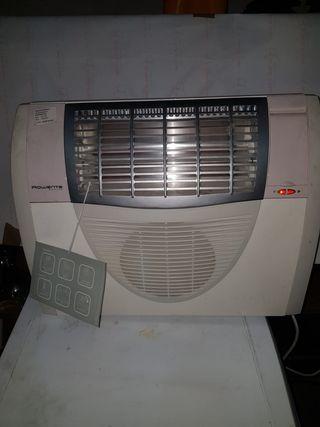 calefactor de barra y aire