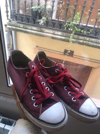 Zapatillas Converse granate