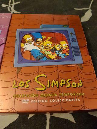 Los Simpson dvd pack 4 temporadas