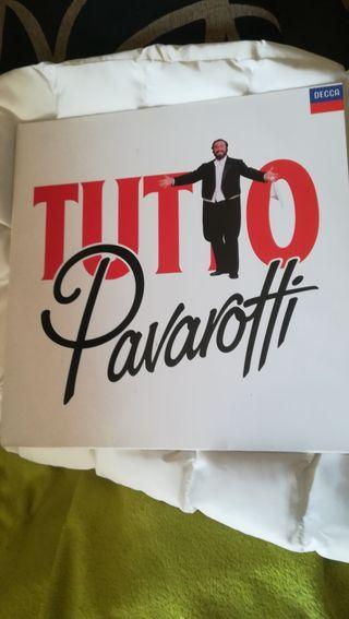 Vinilo doble de Pavarotti