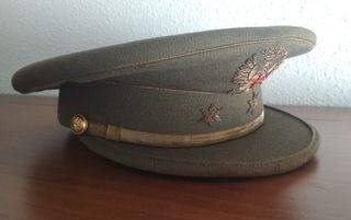 Antigua gorra de plato Teniente años 60