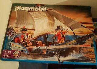 Playmobil ref. 5140 Barco Inglés