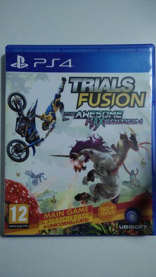 Juego trials fusion the awesome max edition de PS4