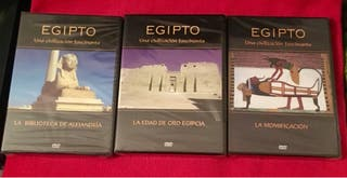 DVD's Colección Egipto.-
