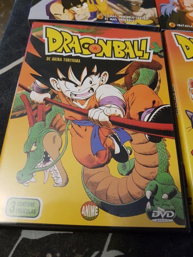 pack películas dragon ball