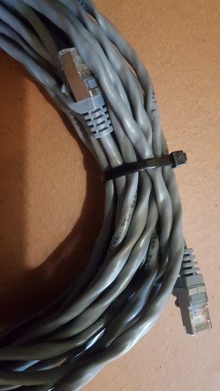 20 metros de cable ethernet