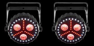 Chauvet DJ led ultravioleta luces disco fiesta