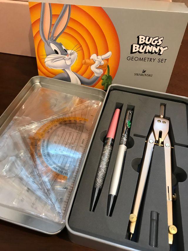 Set geometry bugs bunny swarovski