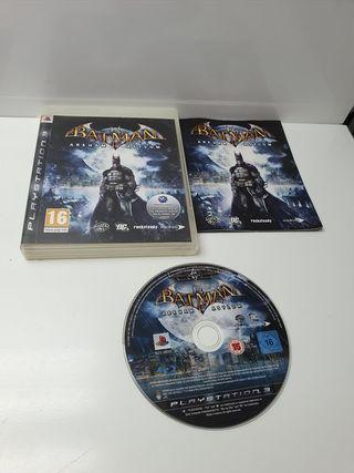 Juego Sony PS3 Completo Batman Arkham Asylum