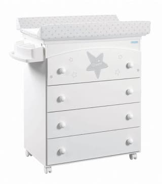 Mueble bañera cambiador Micuna