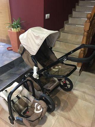 carrito dos piezas bebé
