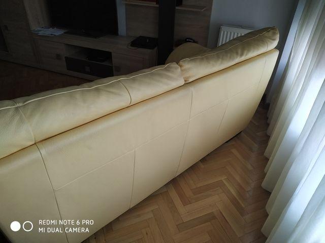 sofá natuzzi piel