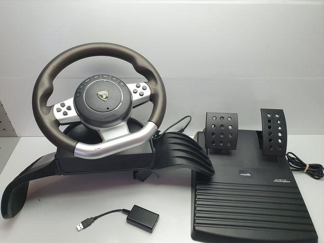 Volante Lamborghini Gallardo PS3 PS2 y PC