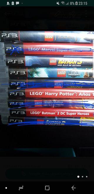 Juegos de lego play3