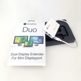 CinemaView Duo Mini DisplayPort Thunderbolt