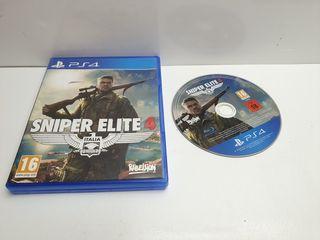 Juego PS4 Sniper Elite 4 Comp